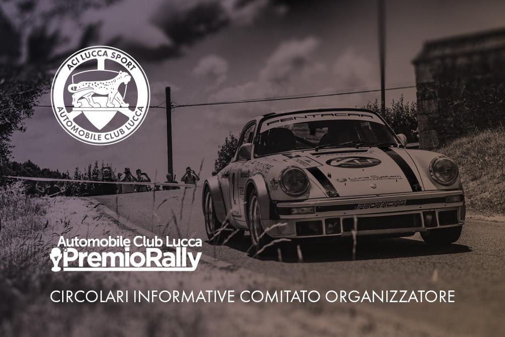 Circolari Informative Premio Rally