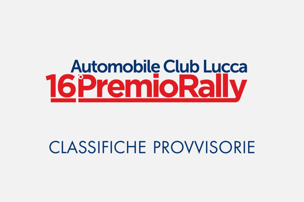 Classifiche 16° Premio Rally